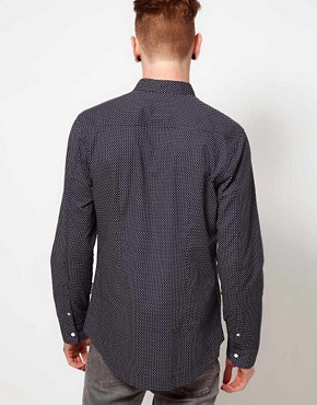 Image 2 ofTwo Square Shirt with Polka Dot Print