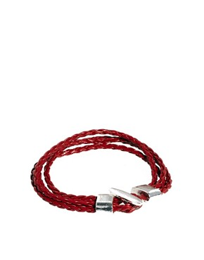 Image 1 ofASOS Multi Plait Bracelet
