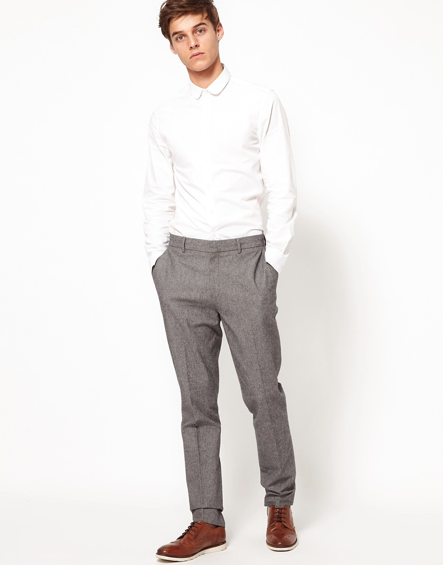Image 4 of ASOS Slim Fit Smart Trousers
