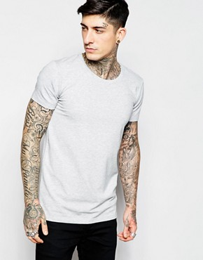 Lindbergh T-Shirt with Crew Neck In Stretch Cotton