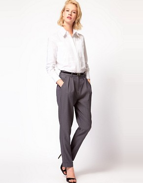 Image 1 ofASOS Tile Print Trousers