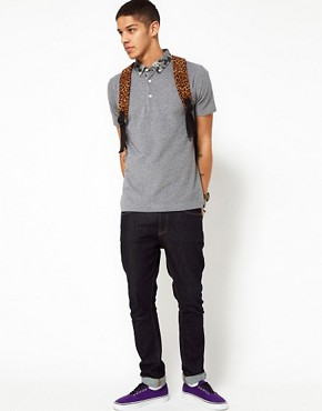 Image 4 ofWings &amp; Horns Polo With Camo Collar