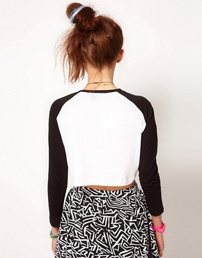 Image 2 ofLazy Oaf Skull Crop Top