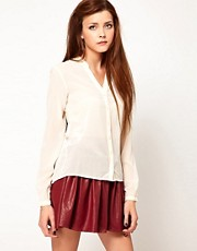 Vero Moda Lace Shoulder Blouse