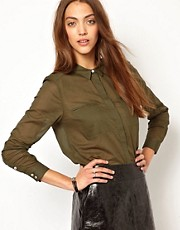 Whistles Freya Cotton Shirt