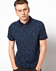 Original Penguin Polo with Floral Print