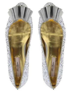 Image 3 ofTed Baker Sampto Bow Ballet Flats