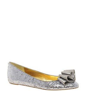 Image 1 ofTed Baker Sampto Bow Ballet Flats