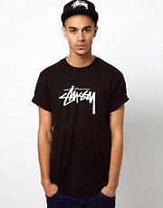 Stussy &ndash; Stock &ndash; T-Shirt mit Logo