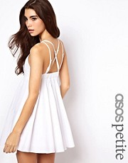 ASOS PETITE Exclusive Sundress With Strappy Open Back
