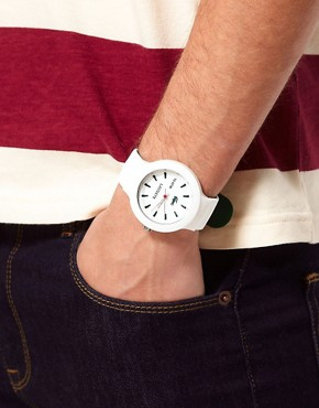 Image 3 of Lacoste White Rubber Strap Watch