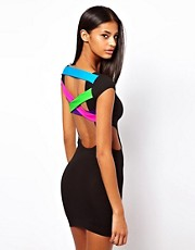 Quontum Dress With Multi Strap Back