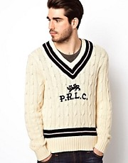 Polo Ralph Lauren - Maglia stile cricket