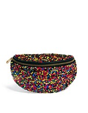 ASOS Bumbag With Sequin Embellishment
