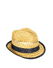 ASOS Straw Hat with Paisley Band