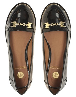Image 3 ofRiver Island Patent Buckle Loafers