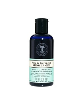 Image 3 ofNeal&#39;s Yard Remedies Rose &amp; Geranium Shower &amp; Bodycare Collection
