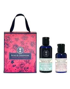 Image 1 ofNeal&#39;s Yard Remedies Rose &amp; Geranium Shower &amp; Bodycare Collection