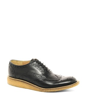 Image 1 ofBen Sherman Movg Crepe Sole Brogues