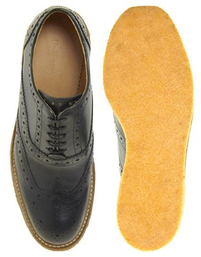 Image 3 ofBen Sherman Movg Crepe Sole Brogues