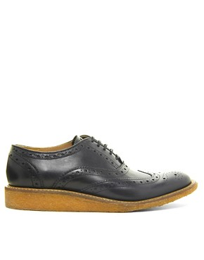 Image 4 ofBen Sherman Movg Crepe Sole Brogues