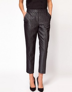 Image 4 ofWhistles Lia Jacquard Trouser