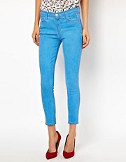 Goldsign Virtual Ocean Ankle Skinny Jeans