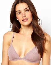 ASOS - Boudoir - Reggiseno a triangolo in morbido tessuto e rete