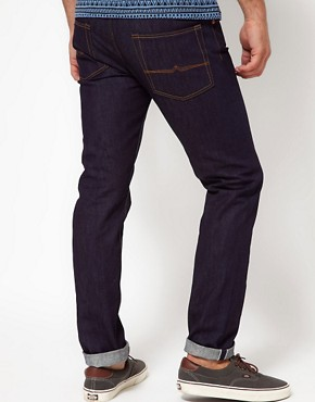 Image 2 ofASOS Slim Raw Selvedge Jeans