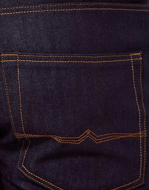 Image 4 ofASOS Slim Raw Selvedge Jeans