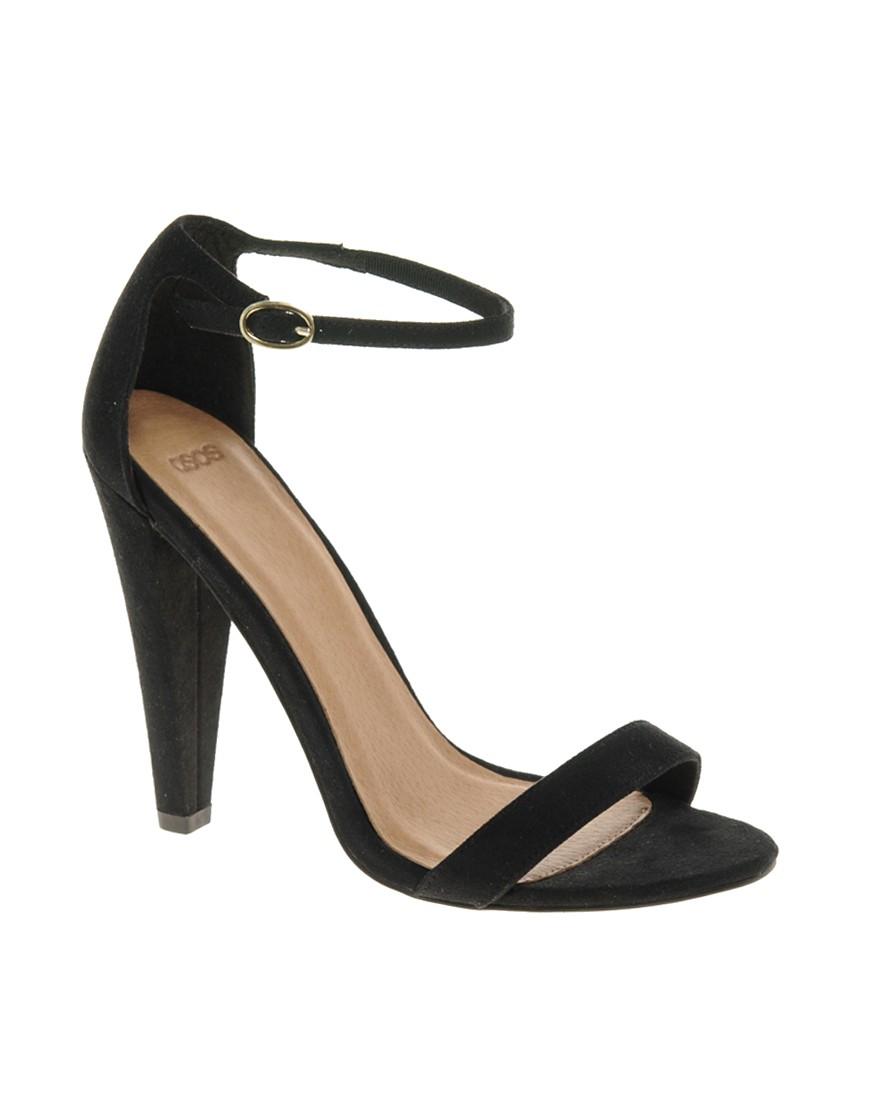 Image 1 ofASOS HOLLYWOOD Heeled Sandals
