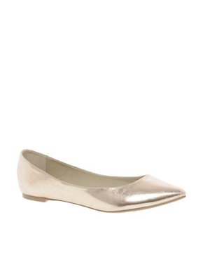 Image 1 ofASOS LUCKY Ballet Flats