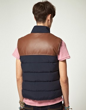 Image 2 ofASOS Gilet With Contrast Trim