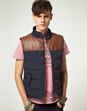 Image 1 ofASOS Gilet With Contrast Trim