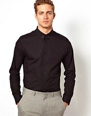 ASOS Smart Shirt with Tie Pin