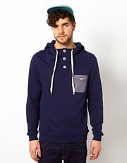 ASOS Hoodie With Contrast Pockets