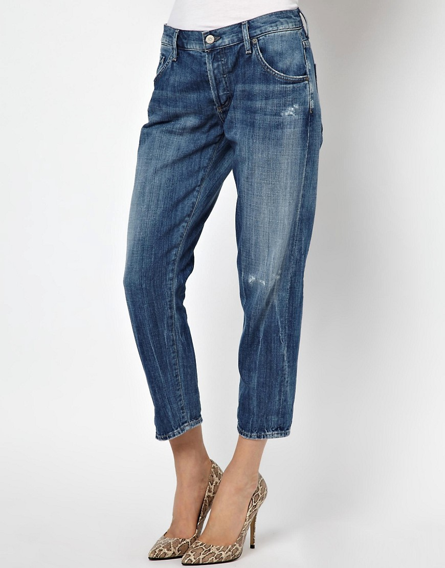 Citizens Of Humanity Skyler Boyfriend Jeans - Blue