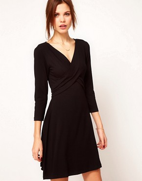 Image 1 ofWarehouse Wrap Dress