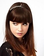 Limited Edition Crystal Spike Tiara Headband