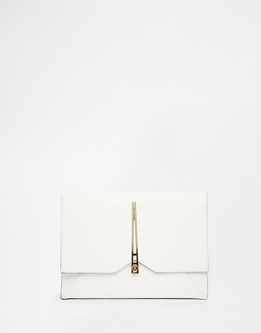 ASOS Clutch Bag with Geo Lock
