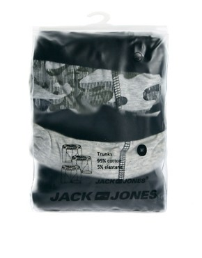 Image 4 ofJack &amp; Jones Hendon 3 Pack Trunks