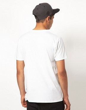Image 2 ofSupremebeing T Shirt White Canvas Project By Food One ASOS Exclusive