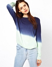 Just Female Dip Dyed Kntted Jumper