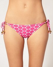 Eda Polka Dot Tie Side Bikini Brief