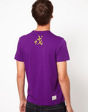 Image 2 ofEvisu Genes T-Shirt With Seagull Logo