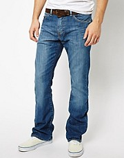 Levis Jeans 527 Bootcut Mostly Mid Blue