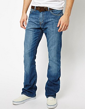 Image 1 ofLevis Jeans 527 Bootcut Mostly Mid Blue