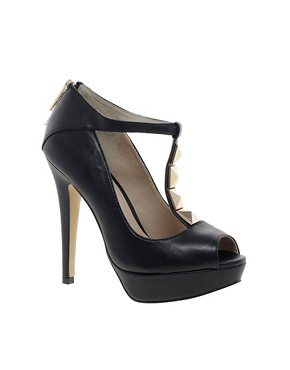 Image 1 ofALDO Losee T Bar Heeled Shoes