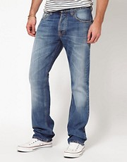 Nudie Jeans Average Joe Straight Fit Vacation Worn