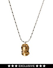 Disney Couture Exclusive To ASOS Dr X Soda Can Pendant Necklace